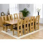 Rustique 150cm Solid Oak Extending Dining Table with Louis Chairs