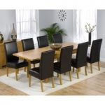 Rustique 150cm Solid Oak Extending Dining Table with Rustique Chairs