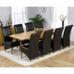 Rustique 150cm Solid Oak Extending Dining Table with Kentucky Chairs