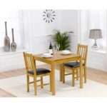 Oxford 80cm Solid Oak Dining Table with Oxford Chairs