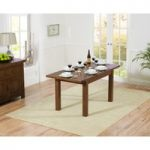 Rustique 120cm Dark Oak Extending Dining Table