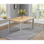 Chiltern 150cm Grey and Oak Dining Table