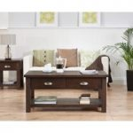 Somerset Dark Oak Coffee Table