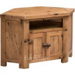 Huari Solid Oak Corner TV Cabinet