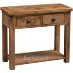 Huari Solid Oak Small Hall Table