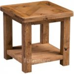 Huari Solid Oak Lamp Table