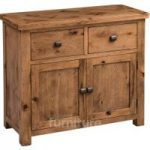 Huari Solid Oak Small Sideboard