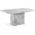 Calabro 160cm Marble Effect Dining Table
