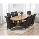 Chelsea Oak Extending Dining Table with Kentucky Chairs