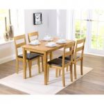 Chiltern Oak Dining Set with 4 Chairs