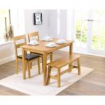 Chiltern Oak Dining Set with Bench and Chairs
