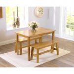 Chiltern Oak Dining Set with Benches