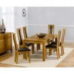 Verona 150cm Solid Oak Extending Dining Table with Toronto Chairs