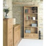 Mobel Solid Oak 3 Drawer Bookcases