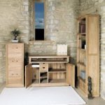 Mobel Solid Oak Hidden Home Office