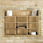 Mobel Solid Oak Reversible Wall Rack