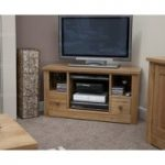 Reno Oak Corner TV Cabinet