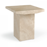 Cenadi Marble Lamp Table