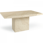 Cenadi 160cm Marble Effect Dining Table