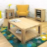 Aston 100cm Oak Coffee Table
