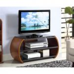 Curve Walnut TV Unit