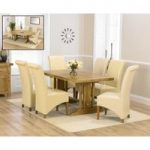 Cavendish 165cm Oak All Sides Extending Table with Kentucky Chairs