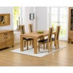 Lisbon 150cm Solid Oak Dining Table with Toronto Chairs