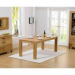 Lisbon 150cm Oak Dining Table