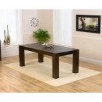 Madrid 200cm Dark Oak Dining Table