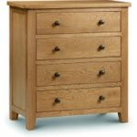 Marlborough Oak 4 Drawer Chest