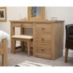 Reno Oak Dressing Table and Stool