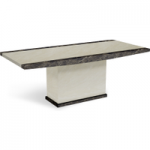 Minella 160cm Marble Effect Dining Table
