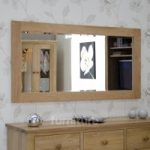 Opus Oak 1500 x 750 Mirror