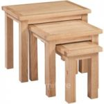 Melrose Oak Nest of Tables