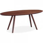 Valencia 180cm Walnut Oval Dining Table