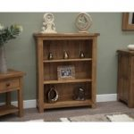 Rustic Oak Small Bookcases