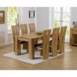 Thames 180cm Oak Dining Table with Montreal Chairs