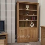 Reno Oak 2 Door Bookcases