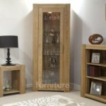 Trend 190cm Oak Glazed Bookcases