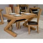Z Solid Oak 120cm Dining Table