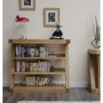Z Solid Oak Designer Small Bookcases