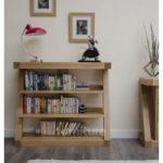 Z Solid Oak Designer Small Bookcases